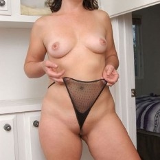 mature MILF shows panties 12 233x233