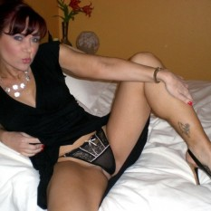Mature MILFs shows their panties