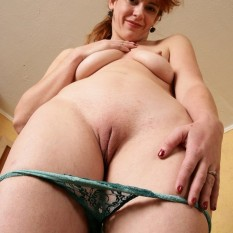 mature MILF shows panties 8 233x233